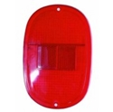 Picture of All Red Rear light Lenses USA Spec Type 2  Aug 1962 to July 1971