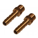 "Picture of Fuel fittings 1/4""  (Pair) for fuel pressure regulator"