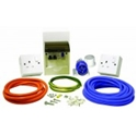 Picture of 240v Surface mounted mains hook up kit