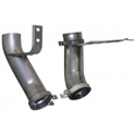 Picture of A Pair of Heat Riser Elbows Type 2 & Type 25 August 1972 to July 1983 1700, 1800 & 2000cc Air Cooled