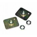 Picture of Seat belts mounting plates with nuts ( Pair)