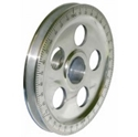 Picture of Crank Pulley Aluminium with black timing scale. T2 and Beetle to May 79
