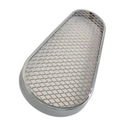 Picture of Fan belt guard, mesh/Chrome