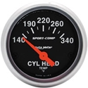 Picture of Cylinder head temp gauge inc sender 2 1/16""