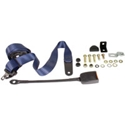 Picture of Seat Belt, Front 3pt Inertia Modern Buckle Stalk Dark Blue