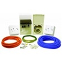 Picture of 240V Mains flush mounted hook up kit