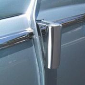 Picture of Beetle Hinge Covers, stainless steel (set of 4)
