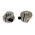 Picture of Clamp nuts, link pin. Pair. Modern nut