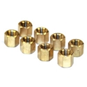 Picture of Nut, brass for manifold M8 thread, 11mm spanner