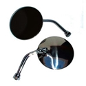 Picture of Beetle Round Exterior door mirror, hinge pin mounted, left or right >1967