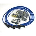 Picture of Ignition leads Flamethrower 8mm in Blue