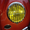 Picture of 356 Headlight grilles- Fully polished stainless steel
