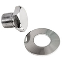 Picture of Bolt crankshaft pulley chrome with washer