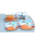 Picture of 16 piece melamine dining set