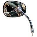 Picture of Beetle oval right mirror. > AUG/1967. Flat 4 good quality
