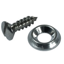 Picture of Chrome Panel Screw & Cup Washer. (Pack of 100)