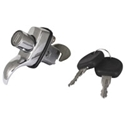 Picture of Beetle Engine lid lock with key. 64-65 and T2 1968 to 1971