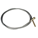 Picture of Splitscreen Clutch cable 55 - 60 +62>  RHD