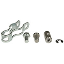 Picture of Heater Cable Clamp kit. OEM T2 and Beetle Aug 1963 to May 1979