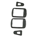 Picture of Beetle door handle gasket, 4pcs ( 2 doors) 1960 to 65