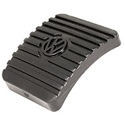 Picture of Brake / clutch pedal rubber. 73 onwards wedge type