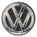 Picture of Badge, VW emblem T2 and T25 Tailgate. 100mm with rubber base