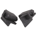 Picture of Beetle cabrio front of rear 1/4 light wedge 65 to 72. Pair