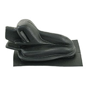 Picture of Beetle handbrake gaiter, black. EMPI