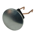 Picture of Beetle chrome jack point cover. Pair