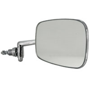 Picture of Beetle door mirror 8/1967> Right. S/S head, correct RHD arm length