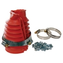 Picture of Swing axle boot kit in Red. Pair