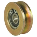 Picture of Roller and bearing vertical, centre of sliding door T25