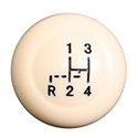 Picture of Beetle Gear Knob, stock with shift pattern, 12mm 1968>