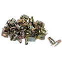 Picture of Trim panel clips. T2 1968 to 79. 50 per bag. For 6mm hole