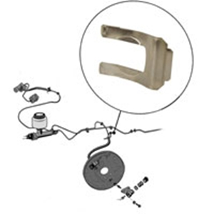 Picture of Brake hose clip, stainless steel