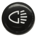 Picture of Beetle Cap for switch/Knob, headlights. 1968 to 1979. Padded Dash