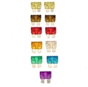 Picture of Blade Type Fuse Pack (1 Each of 3A & 5A & 15A & 25A & 30A Plus 2 Each of 7.5A & 10A & 20A)