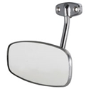 Picture of Chrome rear view mirror Splitscreen 1950 to 1967