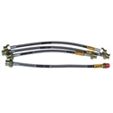 Picture of Brake hose kit, braided, T2 Bay 71-79, Goodridge