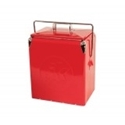 Picture of Retro 17 litre coolbox. Red 186C
