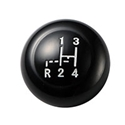 Picture of Gear Knob with Shift Pattern, Black, 12mm