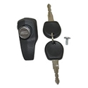 Picture of Rear Hatch Lock, T2 Bay 8/71-79, Black