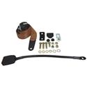 Picture of Seat Belt Front 3pt Inertia Mod Buck Stalk W/Thru Tan
