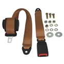 Picture of Seat Belt, Rear Inertia Modern Buckle All Webbing Tan