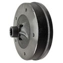 Picture of Brake drum, rear, T2 1968-7/70