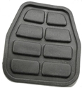 Picture of Type 25 and T4 Pedal pad rubber clutch and brake. 1979 to 2003