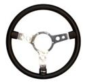 Picture of Mountney Traditional Steering Wheel, 15'' Black Vinyl