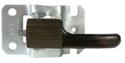 Picture of Door handle, inner LH, 11/69- Black