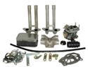 Picture of Aftermarket Weber 32/36 progressive carburettor kit.