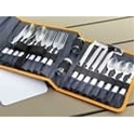 Picture of 4 Person cutlery set in folding wallet